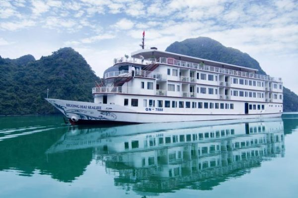 Huong Hai Sealife Cruise Halong Bay 2 Days 1 Night